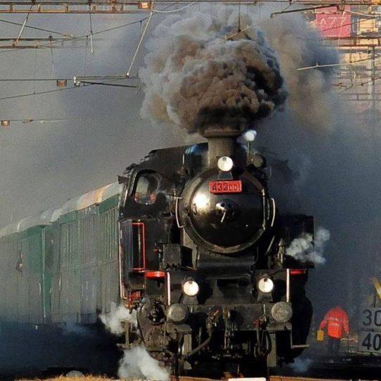parní vlak Skaličák 433.001
